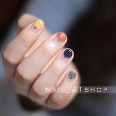 """276 次赞、 2 条评论 - Nail_41shop (@nail_41shop) 在 Instagram 发布:""""@jini_naildesigner #네일 #네일아트 #41shop #젤네일 #청담네일 #청담동네일 #nail #nails #nailart #naildesign #nailswag…"""" Simple Nail Designs, Gel Nail Designs, Nails Design, Manicure, Diy Nails, Stylish Nails, Trendy Nails, Rose Gold Nail Polish, Minimalist Nails"""