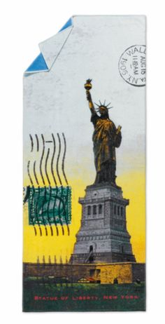Statue of Liberty Digially printed beach towel