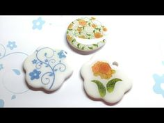 Image transfer to polymer clay (with inkjet printer) - YouTube