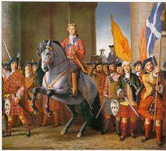 bonnie prince charlie enters edinburgh   ESCOCIA, UNIFORMES Y TARTANES,(nº 2) fuente = Liliane y Fred FUNCKEN ...