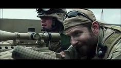 """""""American Sniper"""" — adapted from the autobiography of Chris Kyle, the U. military's most lethal sniper. Directed by Clint Eastwood and starring Bradley Cooper. The Sniper, Clint Eastwood, Chris Kyle, Michael Moore, Charlie Sheen, Tips And Tricks, Bradley Cooper, Patriotic Movies, United States Navy"""