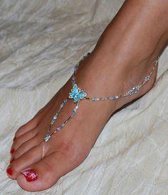 Ankle bracelet. So cute