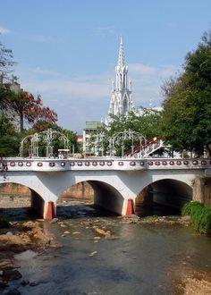 Puente Ortiz y Ermita.- #Cali #ValledelCauca #Colombia
