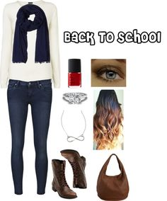 """Back To School/Monday Outfit"" by simply-johanny ❤ liked on Polyvore"