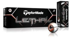 TaylorMade Lethal Golf Ball 12pk White by Taylormade at the Golf Spirit