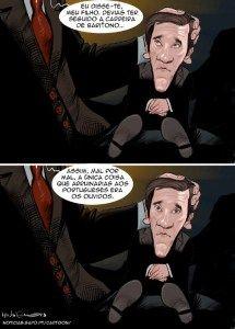 Cartoon: Pai tirano