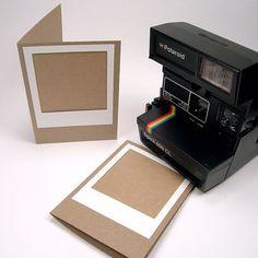 Polaroid Frame Card by caitlynharris on Etsy, $5.50