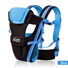 Beth Bear 0-30 Months Breathable Front Facing Baby Carrier 4 in 1