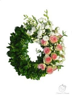 Funeral wreath - Flowers and Blossoms Casket Sprays, Sympathy Flowers, Funeral Flowers, Blossoms, Floral Wreath, Wreaths, Flowers, Door Wreaths, Deco Mesh Wreaths
