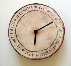 Ceramic Clocks by Maria Kristofersson