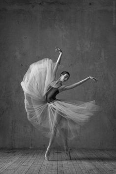 Ballerina Ana Turazashvili - soloist with the Bolshoi Ballet - Photo by Alexander Yakovlev