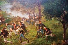 The incredible Cyclorama painting at the Gettysburg National Military Park Museum & Visitor Center was created in the 1880s by French artist Paul Philippoteaux to accurately depict the fury of Pickett's Charge during the Battle of Gettysburg.  This enormous painting has been fully restored by the Gettysburg Foundation and is on display at the Visitor Center.  It's a must-see when visiting Gettysburg!