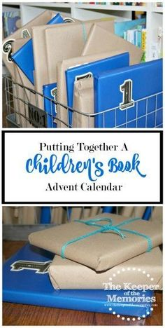 I wanted to do something awesome for the little guy for Advent this year, so I decided to put together a children's book Advent calendar. I thought it'd be a fun way to celebrate the season and encourage a love of books at the same time. Check it out! Math Activities For Kids, Sensory Activities Toddlers, Science For Kids, Preschool At Home, Toddler Preschool, Preschool Ideas, Craft Projects For Kids, Diy Projects, Craft Tutorials