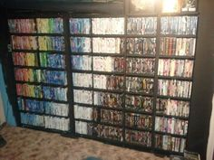 When this person's DVD collection was organised into a magical rainbow. | The 34 Most Oddly Satisfying Moments Of 2014