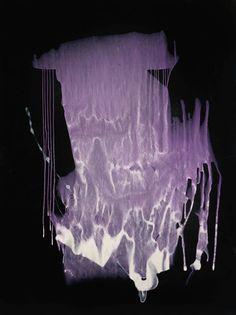 """Untitled (Interferenzbild Violett)"" by Sigmar Polke, 1999 - Pictify - your…"