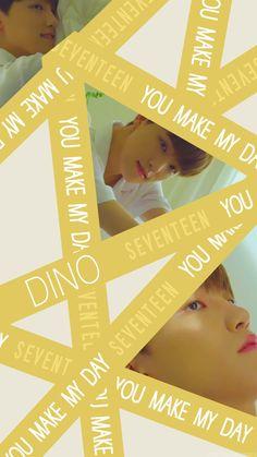 Dino Seventeen, Carat Seventeen, Seventeen Memes, Seventeen Debut, Woozi, Jeonghan, Wonwoo, Quotes Lockscreen, Seventeen Wallpapers