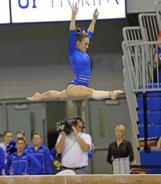 perfect split jump. Fantastic Gymnastics