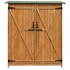 Found it at Wayfair - 4.59 Ft. W x 1.64 Ft. D Wooden Storage Shed