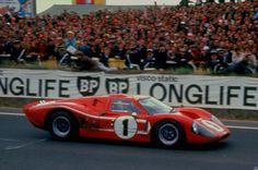 Dan Gurney / A. J. Foyt - Ford Mk IV - Shelby American Inc. - XXXV Grand Prix d´Endurance les 24 Heures du Mans - 1967 International Manufacturers Championship : Prototypes Unlimited, round 7 - Challenge Mondial, round 4