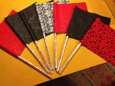 Color Guard Pencil Flags