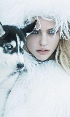 Sasha Pivovarova ♥ Ice Princess