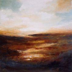 "Saatchi Art Artist Isabel Ferreira; Painting, ""Evening on the Moors"" #art"