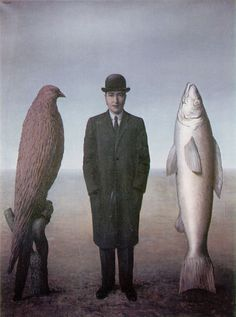 René Magritte – was a Belgian surrealist artist. He became well known for a number of witty and thought-provoking images that fall under the umbrella of surrealism. Magritte's work frequently displays a collection of ordinary objects in. Rene Magritte, Max Ernst, Conceptual Art, Surreal Art, Magritte Paintings, Oil Paintings, Indian Paintings, Abstract Paintings, Painting Art
