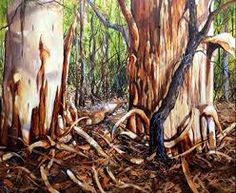 Janey Emery Australian Artist - Shedding