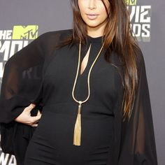 Kim Kardashian used one of these tips to hide her blunted bangs at a recent red carpet event.