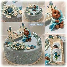 Babyshower cake  www.lanaskaker.123hjemmeside.no