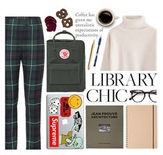 """Ambition"" by auntieblazer ❤ liked on Polyvore featuring Anya Hindmarch, Vans, Fjällräven, Distributed Art Publishers, Muji, Uni-ball, Ace, Burberry and ystudio"