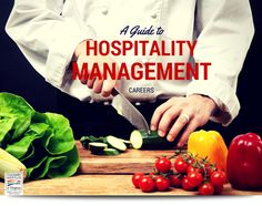 Whether you are looking for a new career, expanding your existing career or just exploring your passion, this Guide to Hospitality Management as a Career has your answers! Career Options, New Career, Culinary Arts, Hospitality, Management, Passion, Business, Board, Summer