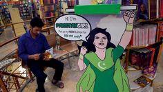 Pakistan's female superhero to fight corruption, violence