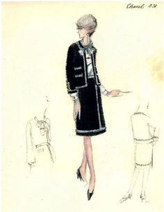 Vintage Chanel Fashion - SEWING CHANEL