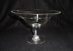 1957 Home Interiors Crystal Pedestal Compote for BHG by Andie83, $22.00