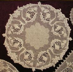 Beautiful crochet Orvieto lace