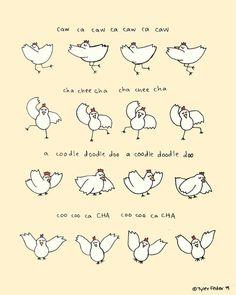 #ArrestedDevelopment Chicken Dance Print  by roaringsoftly on Etsy, $20.00