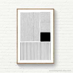 Diy Canvas Art, Diy Wall Art, Arte Shiva, Art Blanc, Art Minimaliste, Black And White Lines, Black White Art, Black White Pattern, Room Posters