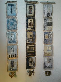 Wall Hangings by Sally MacCabe, via Flickr