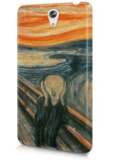 The Scream Art Painting by Edvard Munch Case Cover Design for LeTV Phone