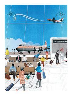 The Airport by Natsko Seki