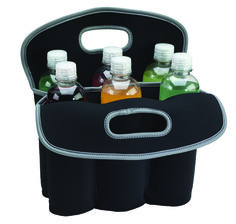 Staying hydrated is so important, and this six-pack tote makes it easy.  Take bottles or can wherever you go!