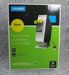 Dymo Label Manager PnP Label Thermal Printer D1 USB Plug and Play PC Mac NEW | Business & Industrial, Office, Office Equipment | eBay!
