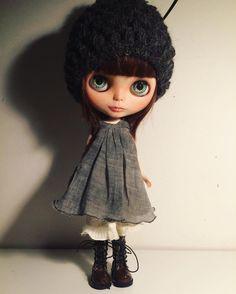 "22 gilla-markeringar, 1 kommentarer - Mu Blythe (@oddblythe) på Instagram: ""She is a pretty one 💕 #blythegram #blythecustom #blythe #handmade #blytheclothes #blythesewing…"""