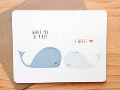 Sea creatures. | 30 Punny Valentines For Everyone You Love