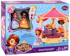 Amazon.com : Disney Sofia the First Exclusive Playset Royal Playdate : Doll Playsets : Toys & Games