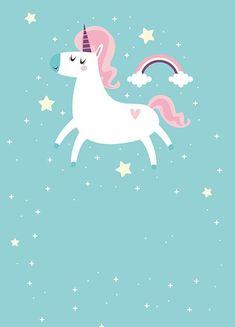 Einhorn Freebie Einladungen & Karten Unicorn Horse, Unicorn Art, Cute Unicorn, Unicornios Wallpaper, Flower Wallpaper, Happy Birthday Wallpaper, Unicorn Illustration, Unicorn Pictures, Unicorn Invitations