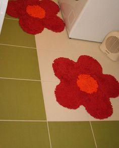 Colorful family bathroom Family Bathroom, Shag Rug, Bathrooms, Colorful, Rugs, Home Decor, Shaggy Rug, Farmhouse Rugs, Bathroom