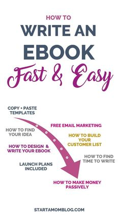 How To Write An Ebook  Step Guide Online Business And Financial