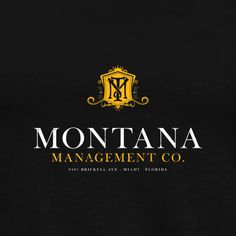 """Montana Management Co. – Miami, Florida. Inspired by the 1983 movie """"Scarface"""". #tshirt #Scarface"""